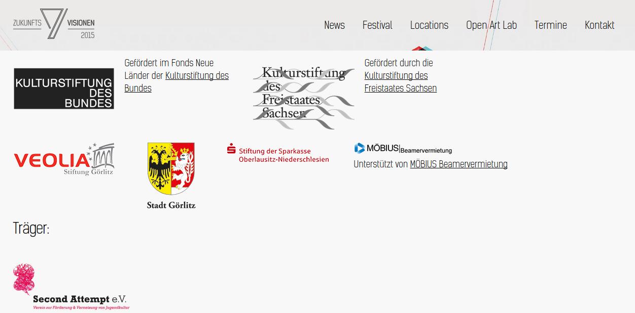 Zukunftsfestival Görlitz 2015 - Festival für zeitgenössische Kunst